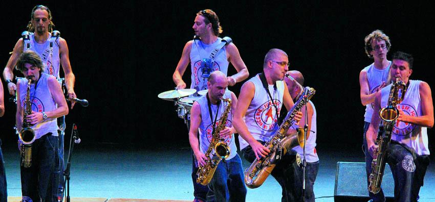 funkoff in concerto a Pianello Val Tidone