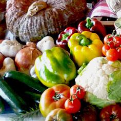 Vendita diretta verdure e frutta dell'orto