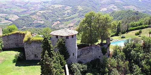 La Rocca d'Olgisio e la Val Tidone